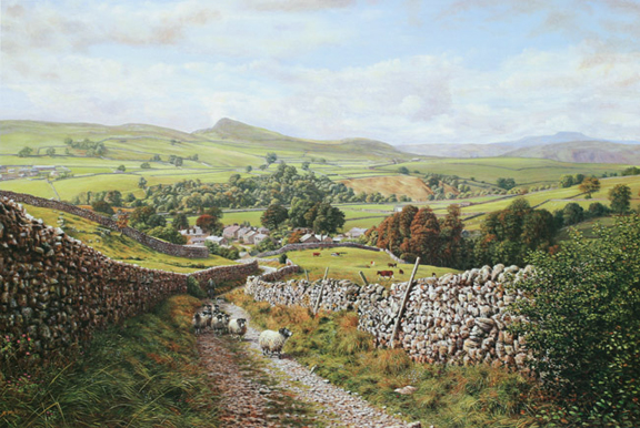 Ribbledale Keith Melling Yorkshire Dales Artist